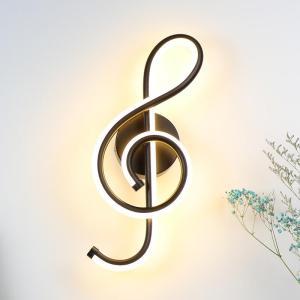 Lampe murale clé musique