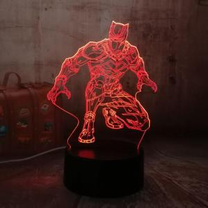 Lampe Led Black Panther