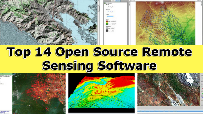 Resultado de imagen para Top 14 Open Source Remote Sensing Software