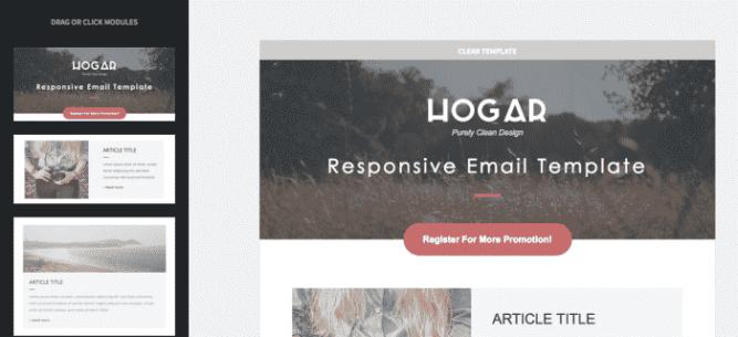Template Hogar