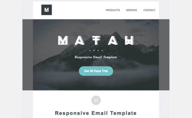 Template newsletter matah