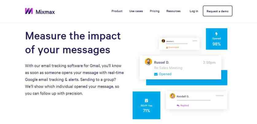 Mixmax : Un logiciel de mesure complet des emails