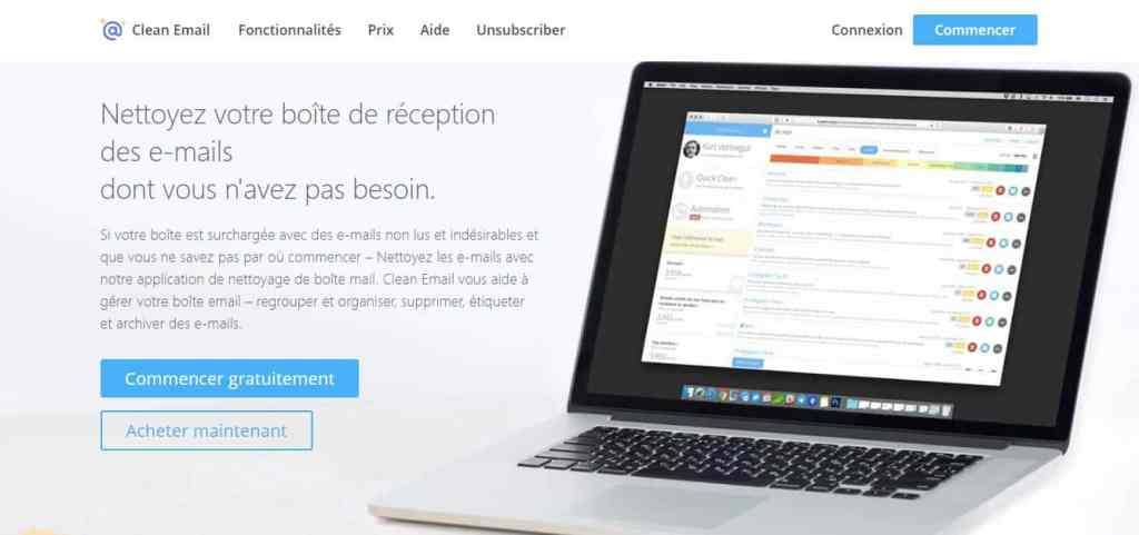 2. Clean Email : Un antispam efficace