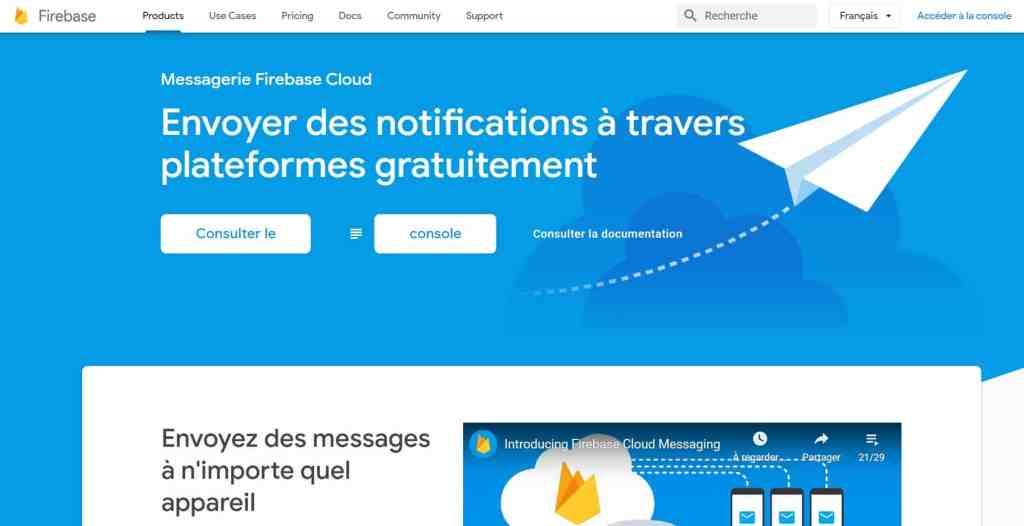 Firebase Cloud Messaging (FCM)