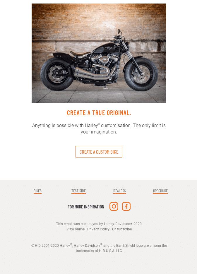 6.2 Harley Davidson