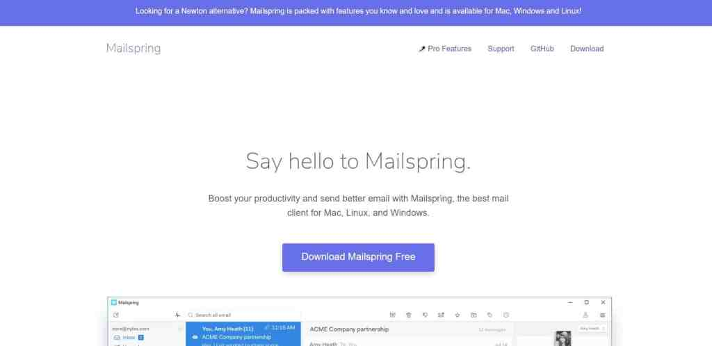 Mail Spring