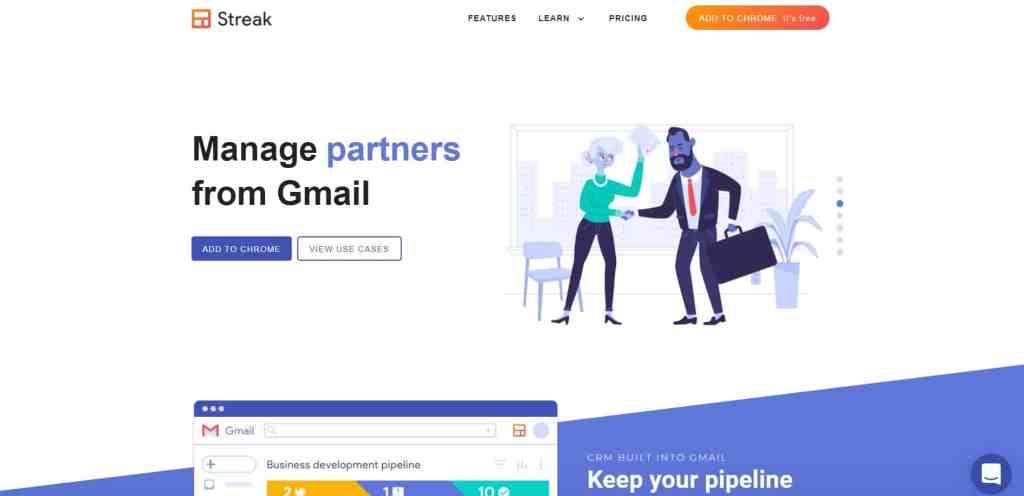 Streak pour Gmail