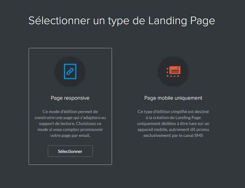 Sarbacane Landing pages