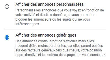 Personnalisation Gmail 3