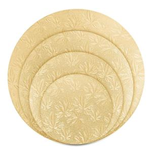 gold cake boards