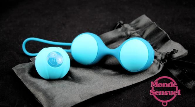 Stella II Double Kegel Ball Set – Geisha – Test Sextoy