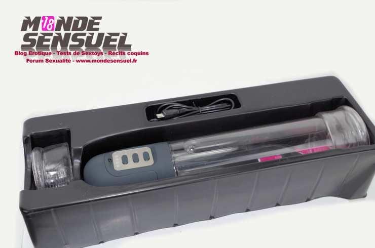 power pump pro boite ouverte