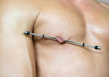 DeLuxe Nip Stix – Pinces à seins baguette