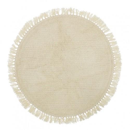 tapis rond en laine bloomingville