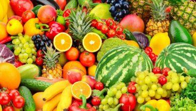 أهمية تناول الفاكهة والخضراوات الطازجة