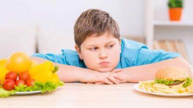 الطفل ذو الوزن الزائد