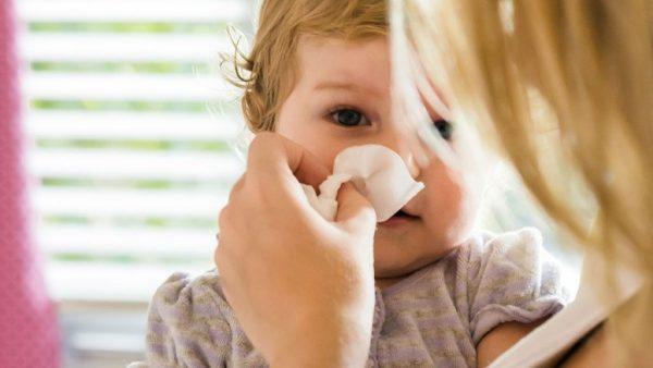الزكام وأعراضه عند الطفل