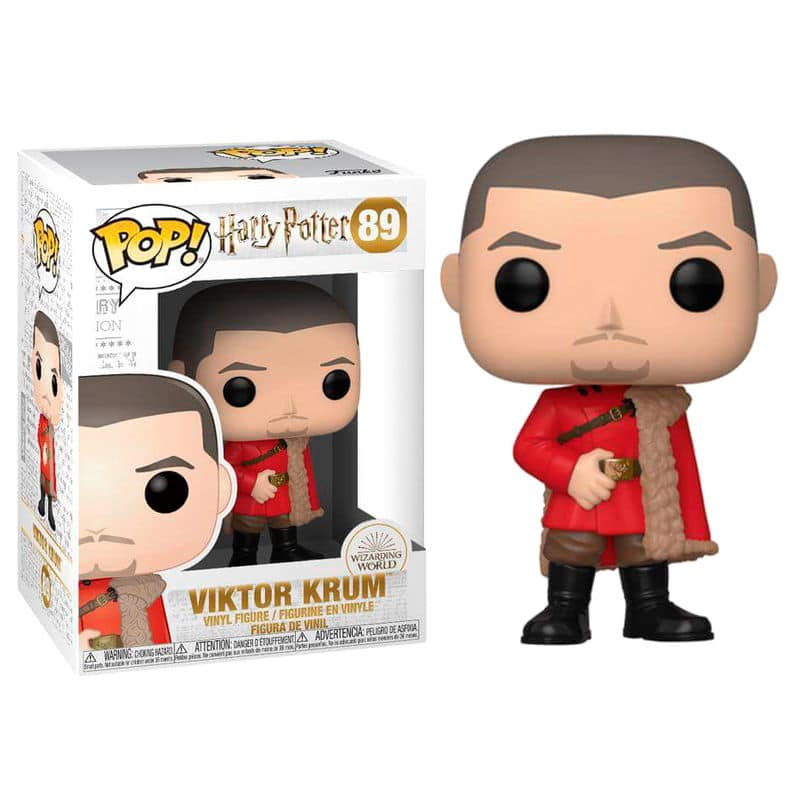 HARRY POTTER POP FUNKO VINYL FIGURE 89 VIKTOR KRUM