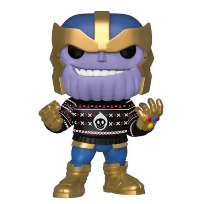 Marvel Thanos Funko Pop Thanos Holiday 533