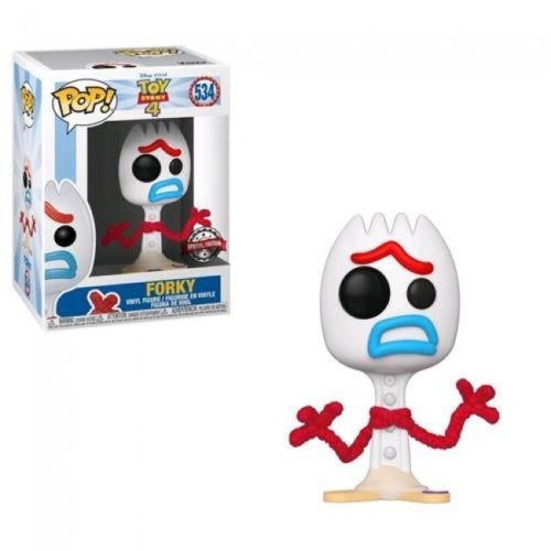 Toy Story 4 Funko Pop Forky 534 Limited Edition Comicon Napoli 2019