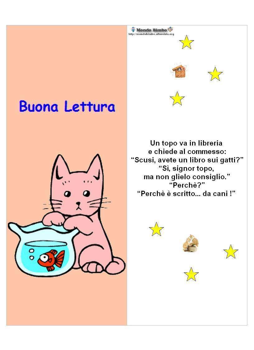 colorati e simpatici segnalibri con disegnato dei gatti su un lato e