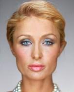 Paris Hilton, 2008, série Portraits/Martin Schoeller/Reprodução