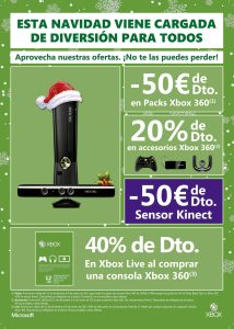 Ofertas Navidad Xbox360