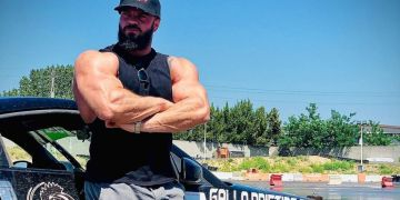 Danny Lazzarin muscoli