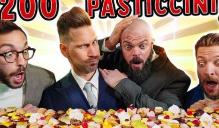 Thomas Hungry sfida i Gentlemen: la challenge dei 200 pasticcini è un successo