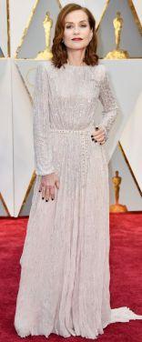 Oscar 2017 Isabelle Huppert veste Armani @ Getty