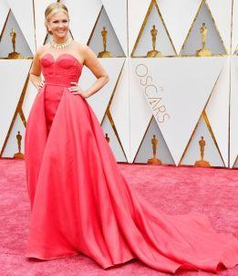 Oscar 2017 Nancy O'Dell veste alice + olivia by Stacey Bendet @ Getty