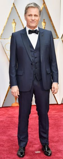 Oscar 2017 Viggo Mortensen veste Dior @ Getty