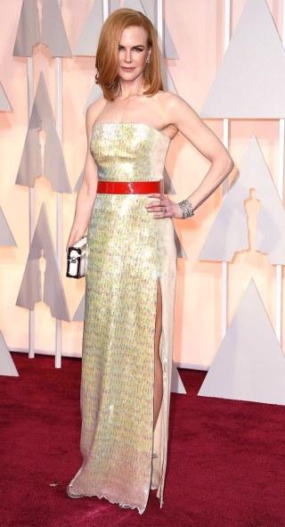 2015 Nicole Kidman Oscar @ WireImage