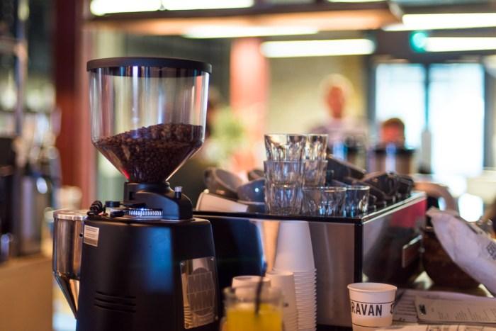 Coffee at Caravan Kings Cross