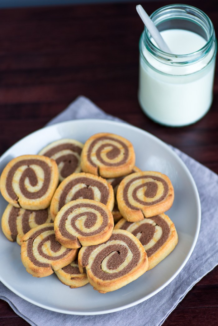 Double Chocolate Pinwheel cookies recipe