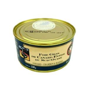 Godard Foie gras entier duck 130 t