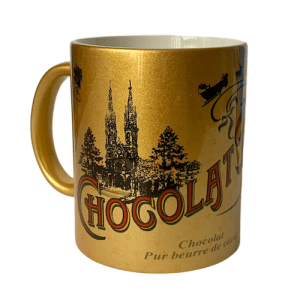 Gold Hot Chocolate Mug