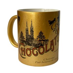 Gold Hot Chocolate Mug