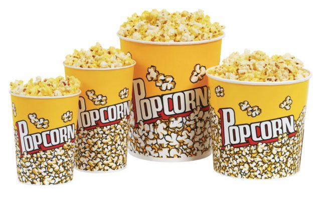 mangiare popcorn