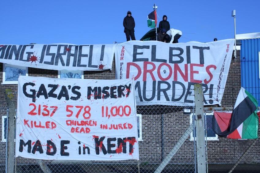 (Photo: London Palestine Action)
