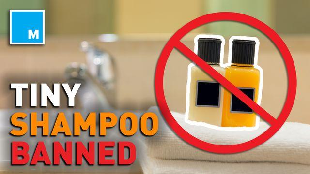 The Marriott Hotel to stop providing tiny toiletries, save plastic