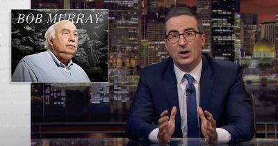 John Oliver once got sued for going after a coal giant. And he