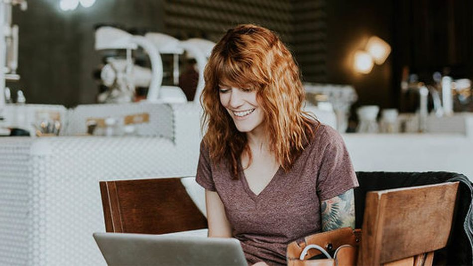 As a freelancer, you can work from home or from your favorite coffee shop.