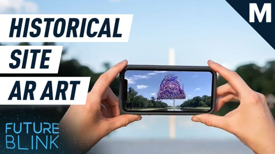 Reimagine U.S. historical spaces with this AR artwork — Future Blink