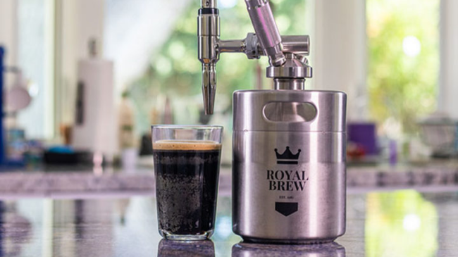 This cold brew keg is on sale and exactly what your WFH life needs