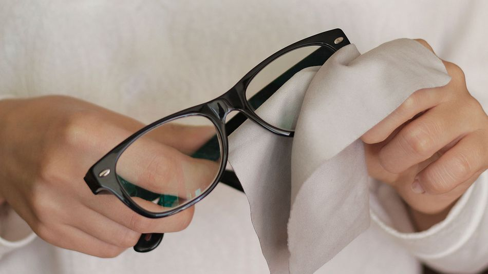 This anti-fog treatment will help you actually see out of your glasses when wearing a mask.