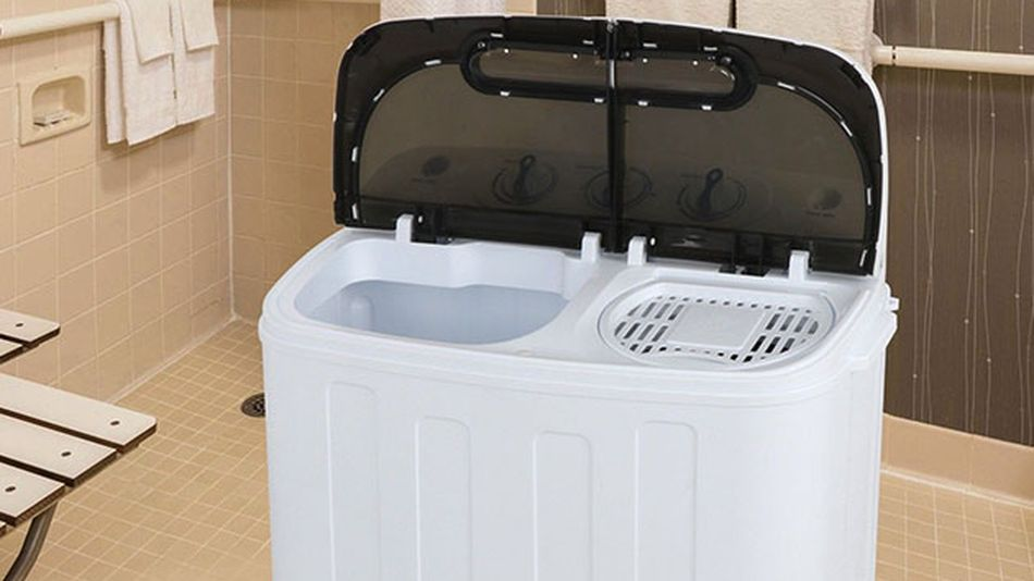 This tiny washer and dryer combo is the answer to your laundry struggles