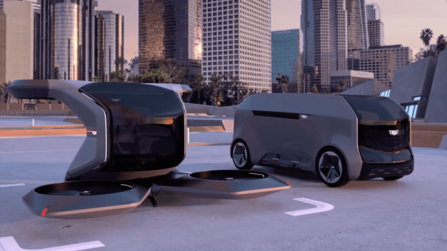 Cadillac wants to fly people in electric drones