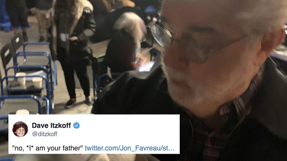 George Lucas finally met Baby Yoda and Star Wars fans couldn't get enough