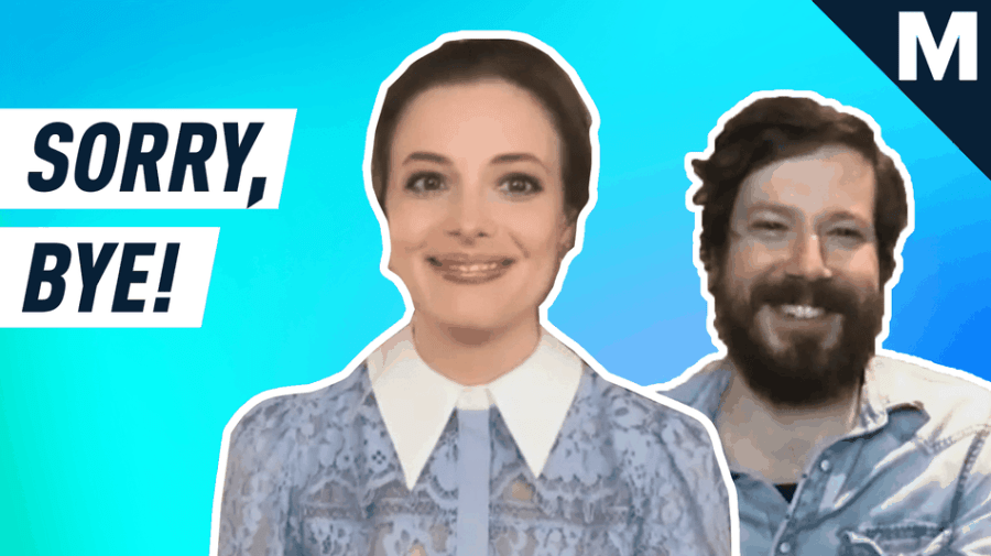 Gillian Jacobs and John Gallagher Jr. play 'Sorry, Bye'